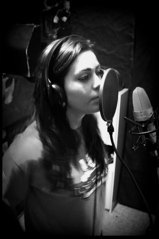 Rivkah Hope in studio